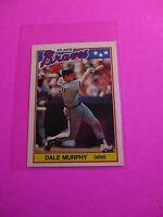 1988 Topps TIFFANY, UK American Baseball Mini,  MINT Dale Murphy #52 Rare!