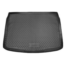 Nissan Qashqai 14-18 Rubber Boot Liner Tailored Fitted Black Floor Mat Protector