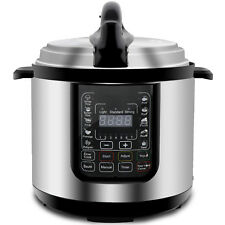 Digital Pressure Cooker W/ Steamer Sterilizer Eco Home Kitchen Cooking Appliance