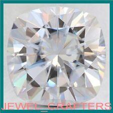 5CT 10mm CUSHION CUT White Premium Diamond Simulated Lab Created Loose Stone