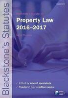 Blackstone's Statutes On Property Law 2016-2017 (Blackstone's Statute Series)