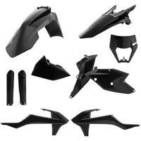 Acerbis 2733420001 Full Plastic Kit - Black