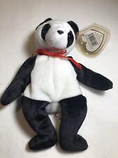 Fortune Ty Beanie Baby Bear Panda