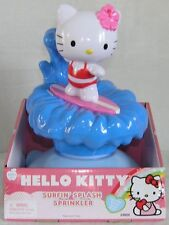 Hello Kitty Sprinkler Water Toy Surfin' Splash BIG FUN Spins & Sprays!  NIB