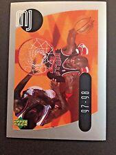 1998 Upper Deck MJ Sticker Collection #50 - Michael Jordan - Chicago Bulls