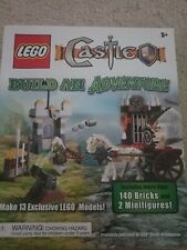 LEGO Castle Build an Adventure, 140 Bricks & 2 Minifigures Building Blocks Toys