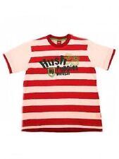 Gestreifte T-Shirts für Jungen aus 100% Baumwolle