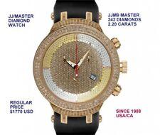 New Joe Rodeo MASTER JJM9 Men's  Swiss 2.20 CARATS  Diamonds Watch