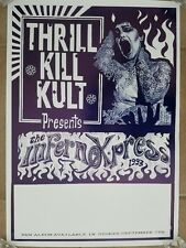 Thrill Kill Kult Vintage 1993 Promotional Sales and Touring Poster