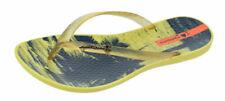 Sandali e scarpe infraditi gialli per il mare da donna
