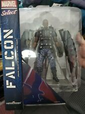 Falcon Marvel Select Captain America Winter Soldier Diamond Select NIP