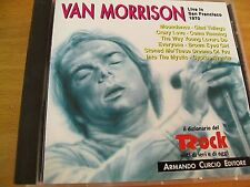 VAN MORRISON LIVE IN SAN FRANCISCO 1970  CD  CURCIO 1992 ITALY