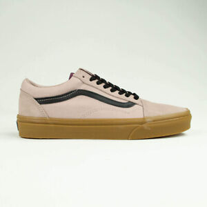 Vans Old Skool Trainers Shoes Shadow Grey/Prune/Brown UK Sizes 6,7,8,9