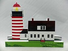 Shelia's Collectibles - West Quoddy Light - Panoramic Lights Series # PLH04