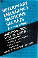 VETERINARY EMERGENCY MEDICINE SECRETS 2001 SC BOOK