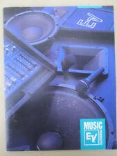 Vintage 1992 ORIGINAL Electro-Voice microphone 39 page product catalog