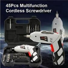Cordless Electric Screwdriver Drill Tool Set