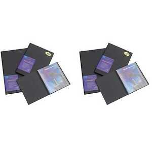 Itoya AD24-4 Advantage Bound Portfolio with Clear Polyglass Pages (2 Pack)