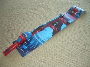 """SHAKESPEARE MARVEL ULTIMATE SPIDER MAN 2' 6"""" ALL-IN-ONE ROD & REEL (NEW)"""