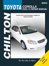Toyota Corolla Chilton Repair Manual (2003-2013)
