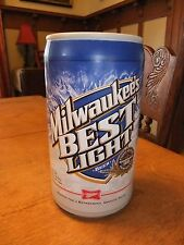 Milwaukee's Best Novelty Foam Promotional Beer Can Bachelor Party Man Cave *WOW*