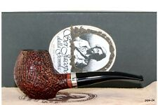 SER JACOPO S2 Silber | Hand Made in Italy | Pfeife Pipe 9mm Filter 316