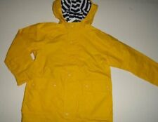 NWT Baby Gap Boy's 5T/Years Jersey Lined Yellow Raincoat Jacket