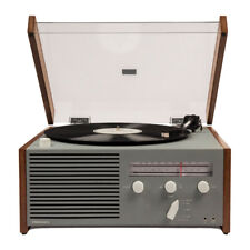 Crosley CR6033A-GY OTTO Entertainment Center Record Player with Built In Speaker