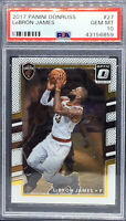 2017-18 PANINI DONRUSS OPTIC LEBRON JAMES #27 PSA 10 GEM MINT Lakers Cavaliers