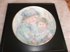 Royal Doulton 1973 Ltd Ed Collector's Plate #1 Edna Hibel Colette And Child