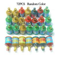 72Pcs Assorted Colourful Party Poppers Celebration For Wedding Party s Birt N3W5