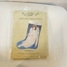 Something Special Counted Cross Stitch Angel Christmas Stocking 50213