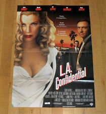 L.A. CONFIDENTIAL poster manifesto Kevin Spacey Guy Pearce Kim Basinger Crowe