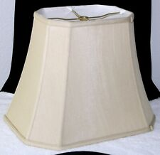 Imperial Lamp Shade Cut Corners Silk Lined Lamp Shade Beige Style R2722
