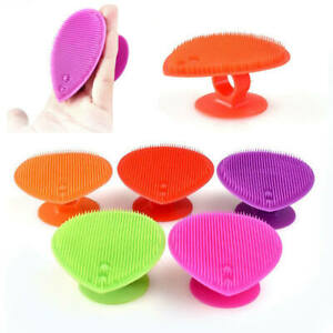 Soft Silicone Wash Pad Face Exfoliating Blackhead Remove Facial Cleansing Brush