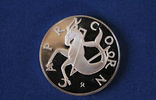 1970 Capricorn Proof Bronze Medallion Franklin Mint Treasury of Zodiac E3671