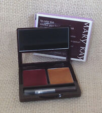Mary Kay Lip Color Duo Garnet Gold Lipstick Brush New Signature NIB 012751