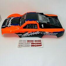 Traxxas Slash - Orange/Black - BodyShell - Body shell - Decals - XL-5 - 4X4 6889