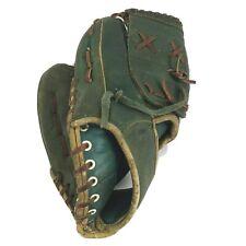 "Rare Everlast 5252B 11"" Vintage Green Leather Baseball Mitt Right Hand Glove LHT"