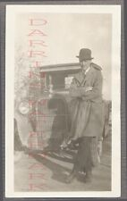 Vintage Car Photo Man w/ 1925 Dodge Automobile 693802