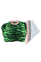Kenzo For H&M Marni At H&M Womens Sweater Scarf Green White Size XS Lot 2