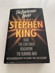 The Bachman Books Hardback Stephen King First Reprint 1986