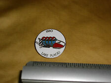 lake placid 1980 olympic winter games four man bobsled  roni the racoon pin