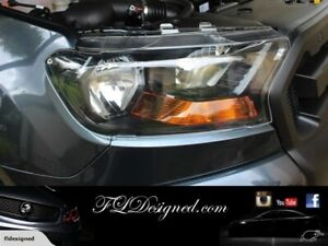 2015-2019+ Ford PX2&3 Ranger /Everest/ Raptor CLEAR Headlight Protectors,Covers