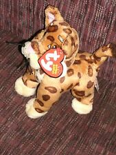 """TY Beanie Babies BABY JAGUAR~ from GO DIEGO GO  6"""" NWT NEW WITH TAGS"""