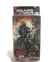 Gears of War 2 Action Figure Grappler Locust Drone w Hammerburst MOC 2009 NECA