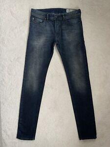 Men's Diesel Sleenker 0842Q Slim Skinny Jeans W32 L32 (D105)