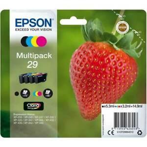 enuine Epson 29 Multipack B/C/M/Y Ink Cartridges (T2986)   FREE 🚚 DELIVERY