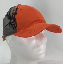 b54d27434c0 Dri Duck Wildlife Series Hat Cap Blaze Orange Buck Mesh Back Adjustable