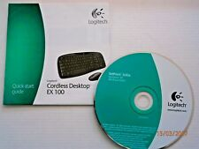 "LOGITECH SetPoint""4.60a Windows XP CD + Anleitung Quickstart Set"